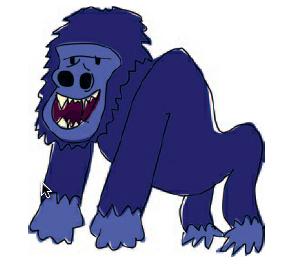 Fig 2.3.1. gorilla
