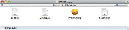 isi file python dot  dmg mac