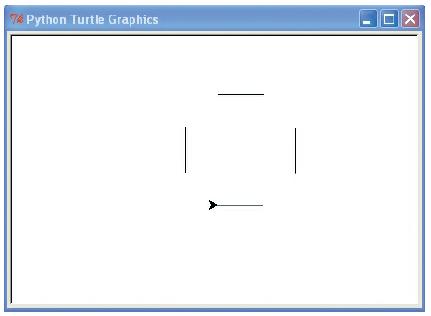 Fig 2.4.13.menggambar kotak tanpa sudut dengan turtle